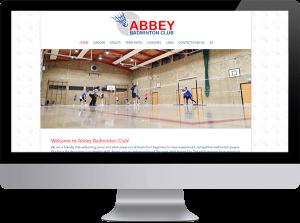 Abbey Badminton Club website