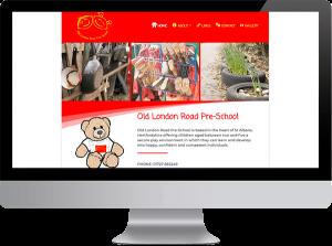 Old London Road Pre-school website